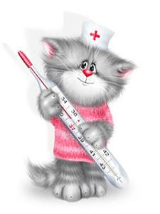 Кошачий грипп или респираторные инфекции верхних дыхательных путей (URI) у кошек и котов