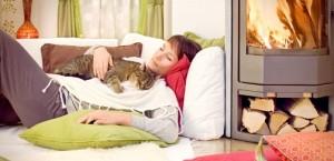 Кошки чувствуют человеческую боль